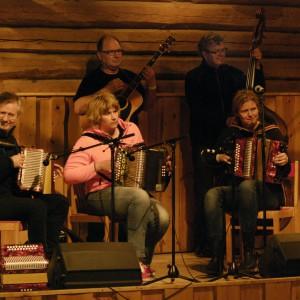 Tones fr.v. Jostein Sørbøen, Tone Norheim-Klausen, Roine Olsson, Håkan Hjerdt & Christina Lundqvist