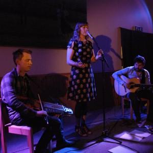 Lovisa Liljeberg Trio.2, David Eriksson, Lovisa Liljeberg och David Eriksson