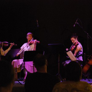 Herrgårdskvartetten (Alf Olsson, Gunilla Sätterman, Elin Pettersson, Caroline Johansson)
