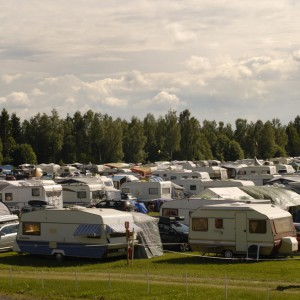 Campingen lördag