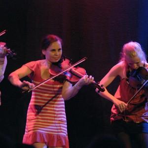 Limbohofvet fr.v. Emma Ahlberg, Johanna Karlsson & Lena Jonsson